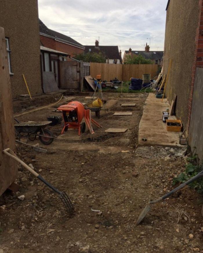 project from new build contractors Hemel Hempstaed
